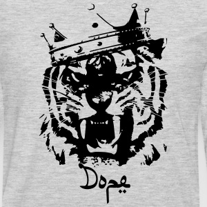 Dope tiger Hoodies - Men's Premium Long Sleeve T-Shirt