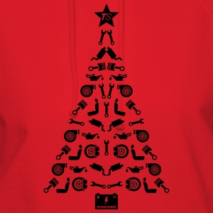 Car Parts Christmas Tree T-Shirts - Women's Hoodie