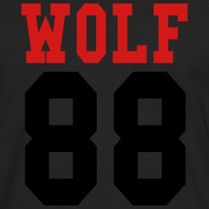 ♥♫Love EXO Wolf 88 Hooded Sweatshirt♪♥ - Men's Premium Long Sleeve T-Shirt