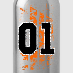 general lee tire mark - Water Bottle