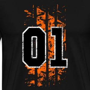 general lee tire mark - Men's Premium T-Shirt
