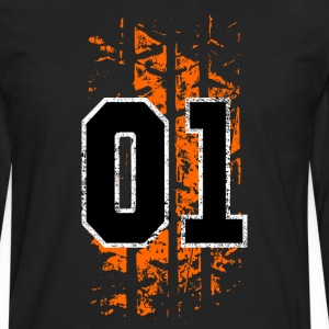 general lee tire mark - Men's Premium Long Sleeve T-Shirt