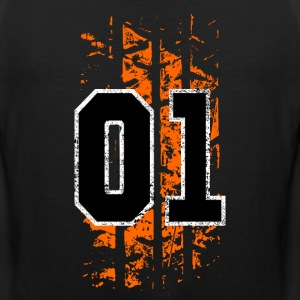 general lee tire mark - Men's Premium Tank