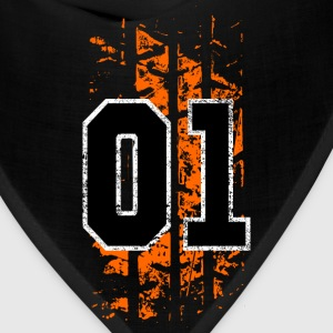 general lee tire mark - Bandana