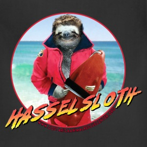 HASSELSLOTH - Don't Hassel The Sloth! Women's T-Shirts - Adjustable Apron