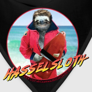 HASSELSLOTH - Don't Hassel The Sloth! Women's T-Shirts - Bandana