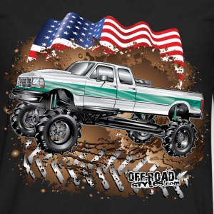 Ford Bronco F350 Mega Truck Kids' Shirts - Men's Premium Long Sleeve T-Shirt