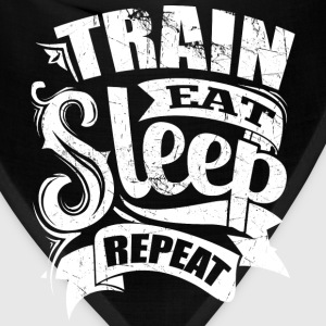 Train Eat Sleep Repeat Gym - Bandana