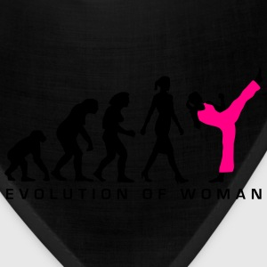 evolution_female_martial_art_112014_b_2c Women's T-Shirts - Bandana