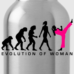 evolution_female_martial_art_112014_b_2c Women's T-Shirts - Water Bottle