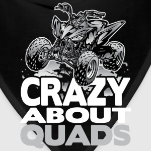 QUAD CRAZY GREY Hoodies - Bandana