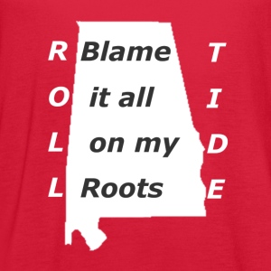 Roll Tide - Women's Flowy Tank Top by Bella