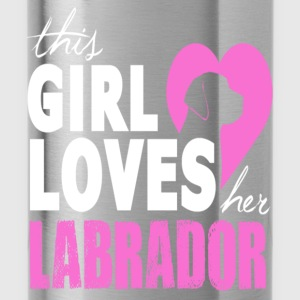 This Girl Loves Her Labrador Hoodies - Water Bottle
