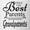 The Best Parents Get Promoted to Grandparents Mugs & Drinkware - Coffee/Tea Mug