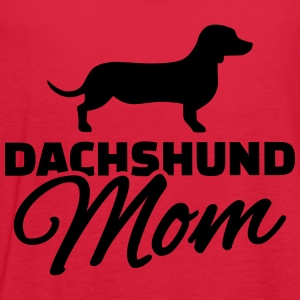 Dachshund Mom Women's T-Shirts - Women's Flowy Tank Top by Bella