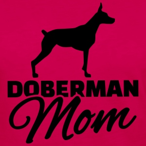 Doberman Mom Kids' Shirts - Women's Premium Long Sleeve T-Shirt