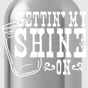 Gettin' My Shine On Hoodies - Water Bottle