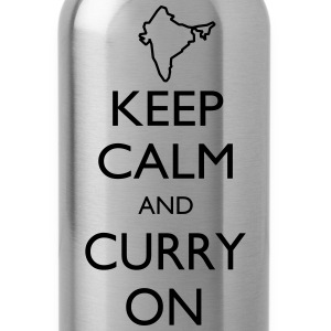 Keep Calm and Curry On - Water Bottle