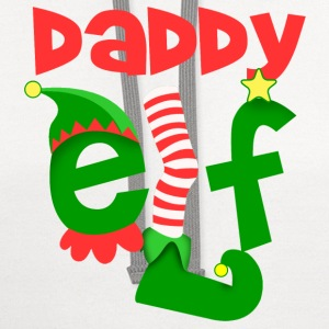 Daddy Elf T-Shirts - Contrast Hoodie