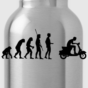 Evolution Vespa Scooter Shirt - Water Bottle