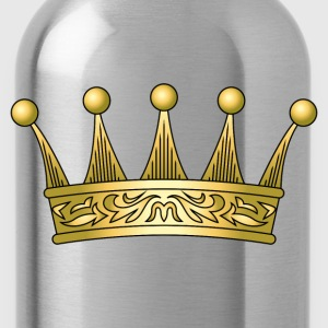 golden crown - Water Bottle