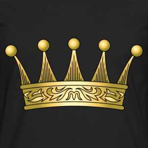 golden crown - Men's Premium Long Sleeve T-Shirt