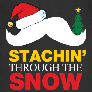 Staching Through The Snow T-Shirts - Adjustable Apron