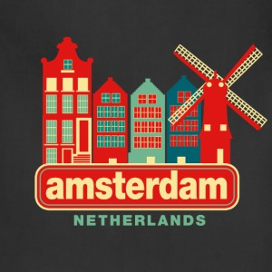 Vintage Amsterdam Women's T-Shirts - Adjustable Apron