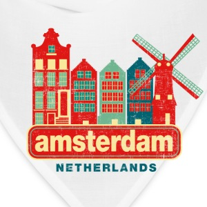 Distressed Amsterdam T-Shirts - Bandana