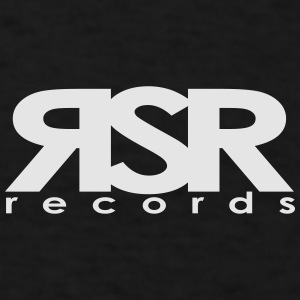 RSR Records Logo - Men's T-Shirt