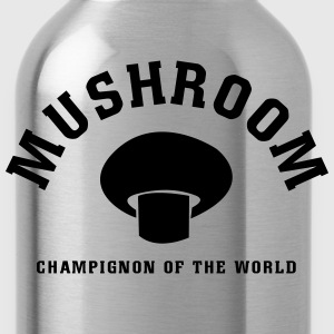 Mushrooms of the World Shirt - Water Bottle