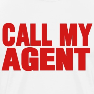 CALL MY AGENT - Men's Premium T-Shirt
