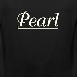 Pearl  Drums  White - Men's Premium Tank