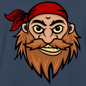 Bearded Pirate Mascot T-Shirts - Men's Premium Long Sleeve T-Shirt