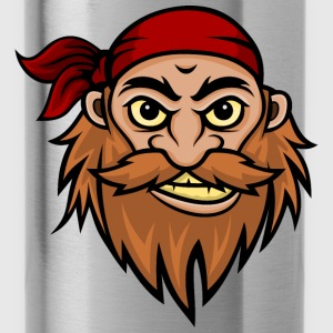 Bearded Pirate Mascot Hoodies - Water Bottle