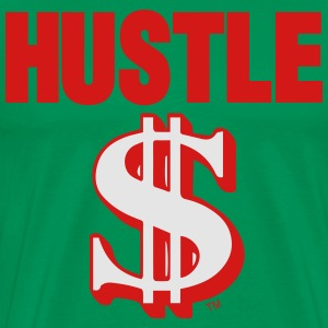 HUSTLE MONEY - Men's Premium T-Shirt