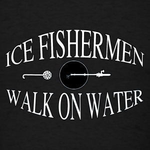 Ice fisherman - Men's T-Shirt
