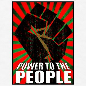 Power to the People Coffee Cup - Men's T-Shirt