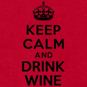 Keep calm and Drink Wine Accessories - Men's T-Shirt by American Apparel