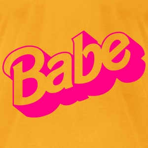 Babe Bags & backpacks - Men's T-Shirt by American Apparel