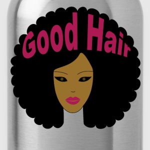 Good Hair (Pink Letters) - Water Bottle