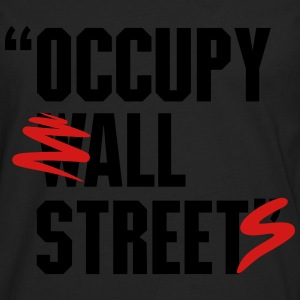 OCCUPY WALL STREET - Men's Premium Long Sleeve T-Shirt