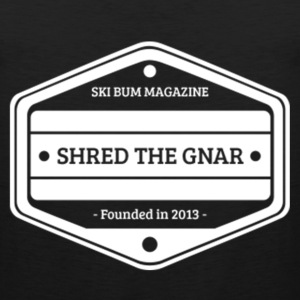 Shred The Gnar T-Shirts - Men's Premium Tank