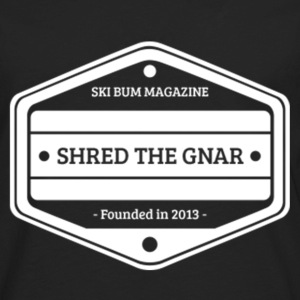 Shred The Gnar Women's T-Shirts - Men's Premium Long Sleeve T-Shirt