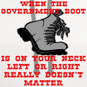 When The Boot Is On Your Neck - Contrast Hoodie