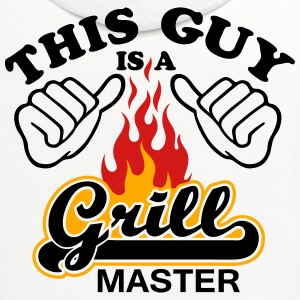 This Guy Is Grill Master - Contrast Hoodie