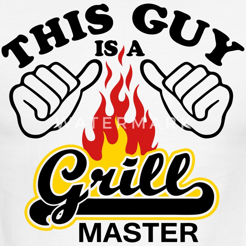 This Guy Is Grill Master - Men's Ringer T-Shirt