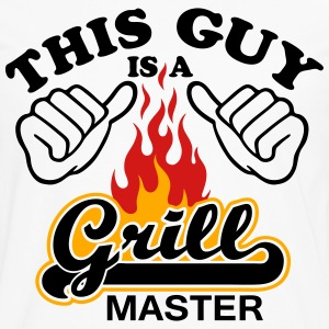 This Guy Is Grill Master - Men's Premium Long Sleeve T-Shirt