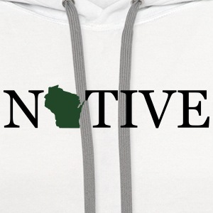 Wisconsin Native Tanks - Contrast Hoodie