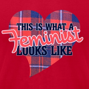 This is what a feminist looks like - Men's T-Shirt by American Apparel